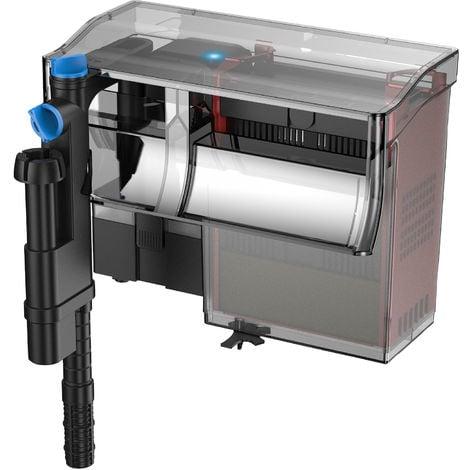 SunSun CBG-800 Hang on, filtro mochila para acuarios de 75-190 l, caudal 800l/h, con unidad UVC