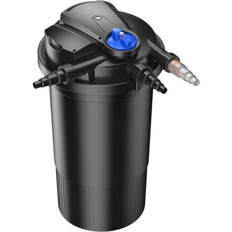 SunSun CPA-15000 Filtre de bassin à pression avec UV 18W jusqu'à 30000l Nettoyage facile
