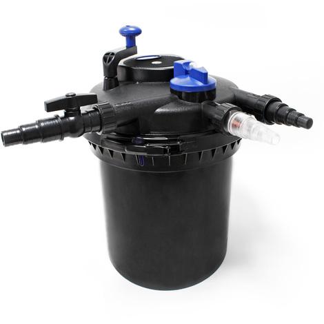 SunSun CPF-10000 filtro presión estanques UVC 11W 10000 L/h estanques hasta 12000L Jardín KOI Peces
