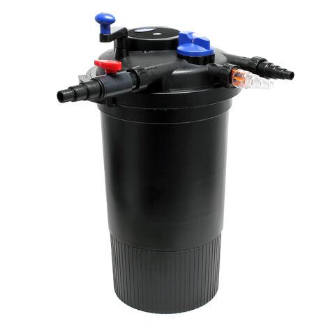 SunSun CPF-15000 filtro presión lámpara UVC integrada 18W estanques hasta 30000L Jardín Peces KOI