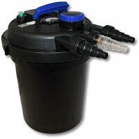 Sunsun CPF-180 Filtre de bassin à pression avec UV 11W jusqu'à 6000l Nettoyage facile