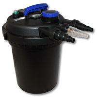Sunsun CPF-180 filtro presión lámpara UVC 11W estanques hasta 6000L Jardín Koi Peces Jardinería