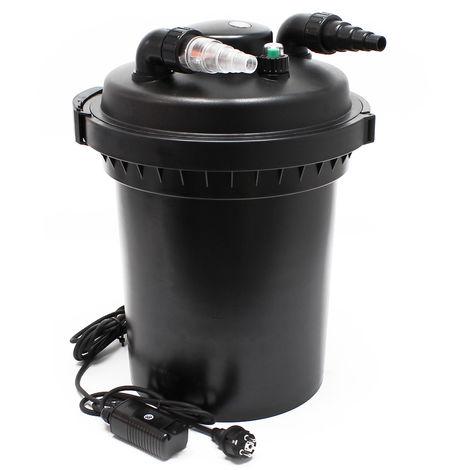 Bio Druckfilter Teichfilter UVC 500 8.000 bis 30.000 Liter CPF 280 380