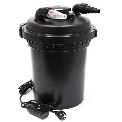 SunSun CPF-380 filtro presión lámpara UVC 11W estanques hasta 12000L Jardinería Jardín KOI Peces