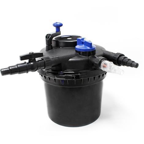 SunSun CPF-5000 filtro presión lámpara UVC 11W estanque shasta 8000L Jardín Koi Peces Jardinería
