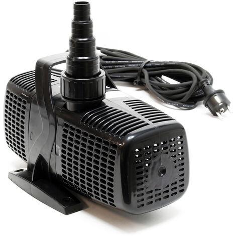 SunSun CQP-8000 Eco Pompe de bassin étang pour cours d'eau ou filtre 8000l/h 70W