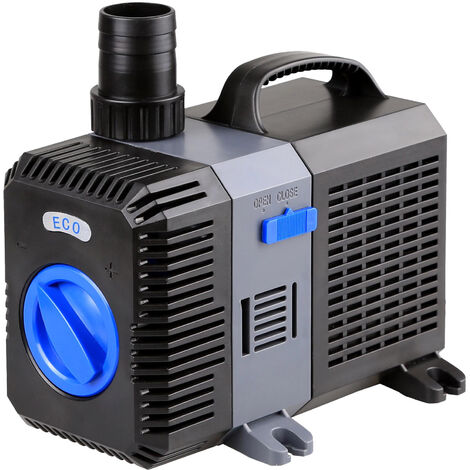 SunSun CTP-8000 SuperECO Pompe de bassin jusqu'à 8000l/h 70W
