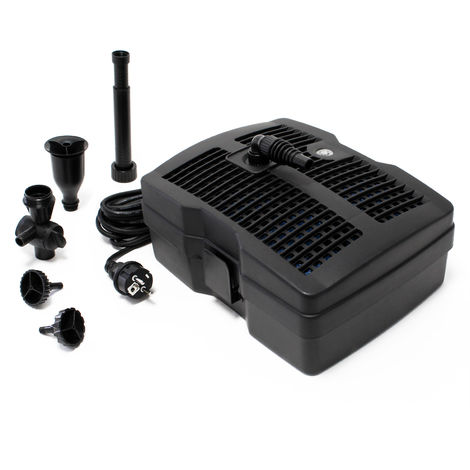 SunSun CUF-6000 3in1 Filter & 4500l/h Fountain 54W & 9W UV-Clarifier