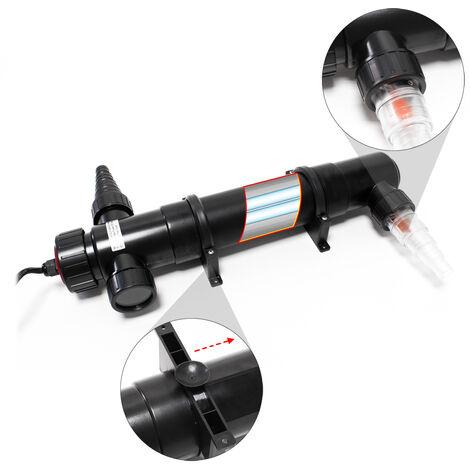 SunSun CUV-155 Stérilisateur Clarificateur de bassins ou d'étang avec Lampe rayons UV-c 55W