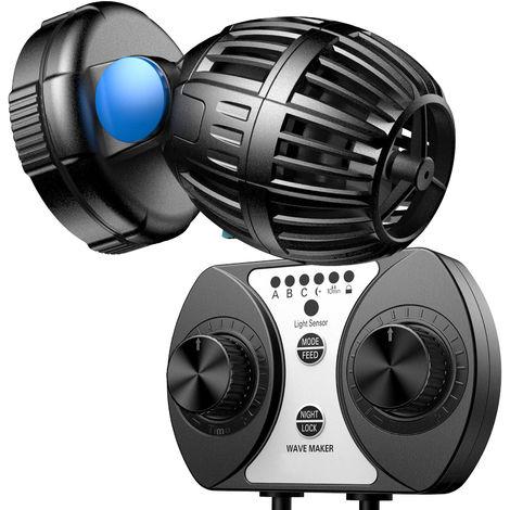 SunSun CW-110 Strömungspumpe Wavemaker 500-4000l/h 10W Kontroller Aquarium Wasser Pumpe