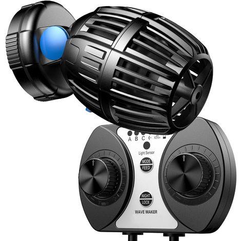 SunSun CW-120 Strömungspumpe Wavemaker 700-8000l/h 20W Kontroller Aquarium Wasser Pumpe
