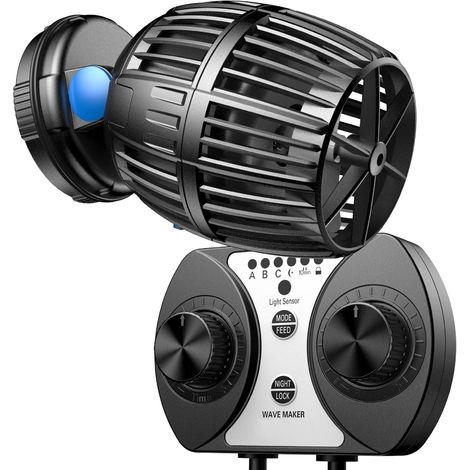SunSun CW-160 Strömungspumpe Wavemaker 1700-20000l/h 60W Kontroller Aquarium Wasser Pumpe