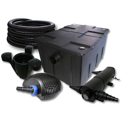SunSun Filtro estanque 60000l 36W Clarificador 40W bajo consumo tipo bomba 25m manguera skimmer SK40