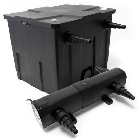 SunSun filtro línea para estanques hasta 12000l 18W clarificador