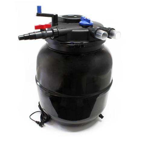 SunSun filtro presión CPF-50000 Bio filtro estanques Moving Bed 55W UVC lecho fluidizado 13000L/h