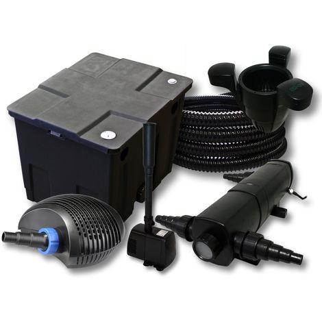 SunSun filtros 12000L Estanque 36W Clarificador CTF Eco 20W Bomba 25m tubo Skimmer SK40fuente