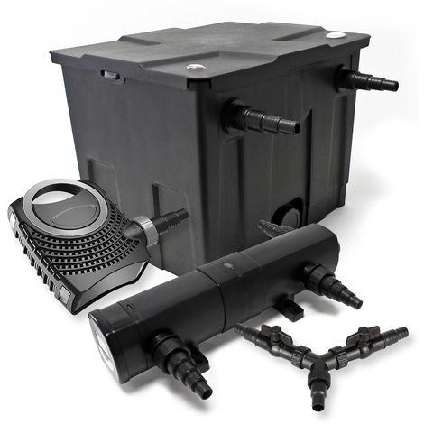 SunSun filtros 12000L Estanque 36W Clarificador neo800070W Bomba