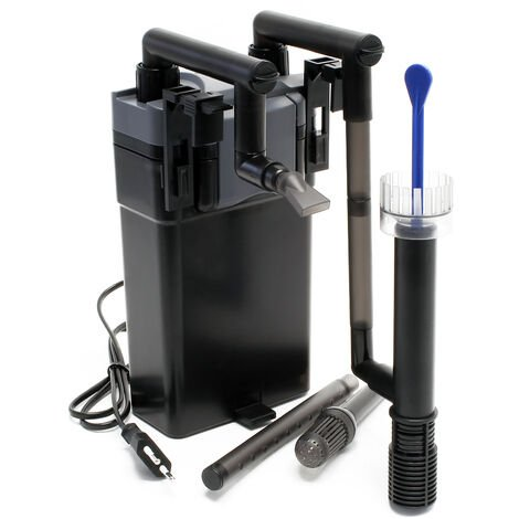 SunSun HBL-802 Filtre suspendu Hang On Filter 500l/h 6W pour Aquariums jusqu'à 100 litres