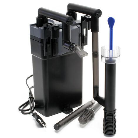 SunSun HBL-803 Filtre suspendu Hang On Filter 500l/h 6W pour Aquariums jusqu'à 150 litres