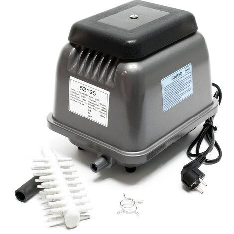Sunsun HJB-280 Pompe à air électromagnétique A oxygène Pour Aquarium Bassin de jardin Silencieuse
