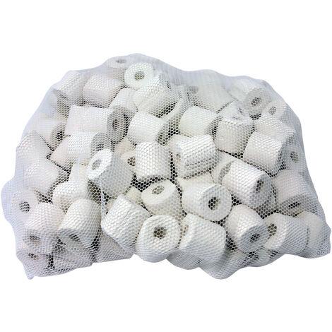 """main image of """"SunSun HW-302 anillos cerámica filtro exterior 450g acuarios recambio repuesto medio filtrante"""""""