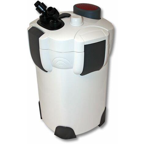 SunSun HW-302 Aquarium bio filtre extérieur 1000l/h 3-Phases Materiaux et Pompe
