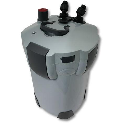 SunSun HW-402B Filtro exterior acuario 3 Etapas 1000l/h Lámpara UVC 9W Mantenimiento acuario Peces