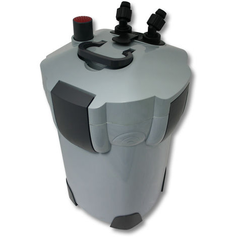 SunSun HW-404A Filtro exterior acuario 4 Etapas 2000l/h Material filtrante Mantenimiento acuario