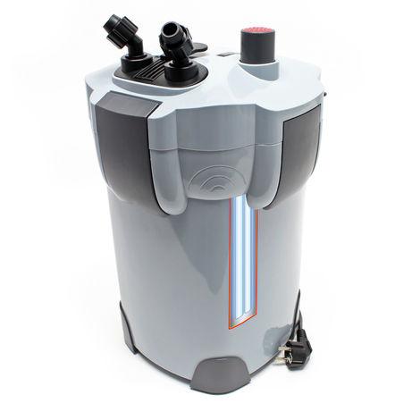 SunSun HW-404B Filtro exterior acuario 4 Etapas 2000l/h Lámpara UVC 9W Mantenimiento acuario Peces