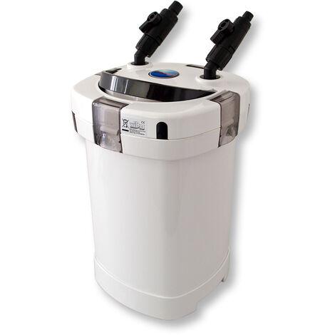 SunSun HW-504A Außenfilter 1000 L/h 4Stufen Kammerfilter Filtermaterial