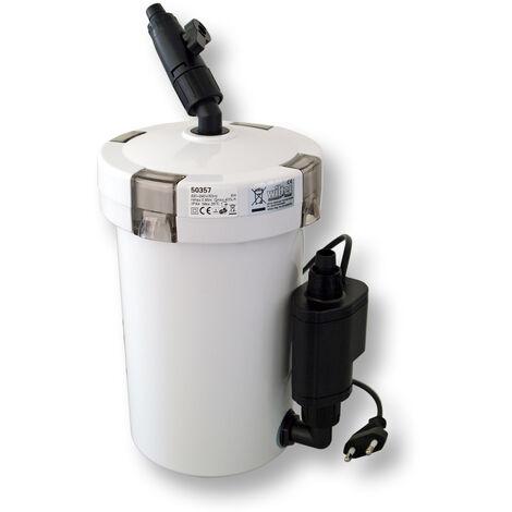 SunSun HW-603B Aquarium bio filtre extérieur 400l/h 3-Phases Matériaux et Pompe