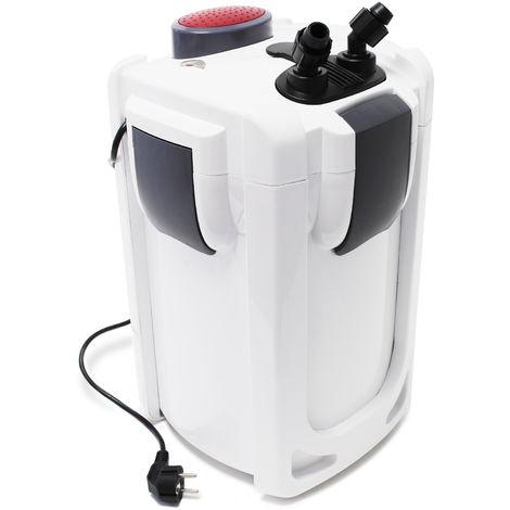 SunSun HW-704B Filtro exterior acuario 4Etapas 2000l/h 45W Lámpara UV 9W Mantenimiento acuario Peces