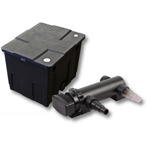 SunSun Kit de filtration de bassin 12000l 18W UVC 3. Stérilisateur