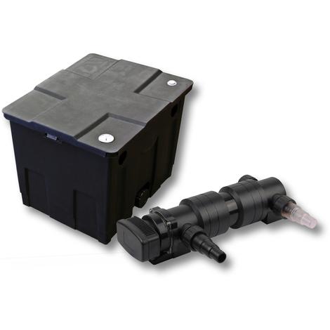 SunSun Kit de filtration de bassin 12000l 18W UVC 6. Stérilisateur