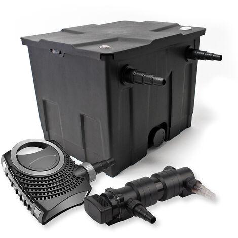 SunSun Kit de filtration de bassin 12000l 18W UVC 6. Stérilisateur NEO8000 70W Pompe
