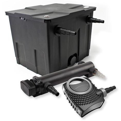 SunSun Kit de filtration de bassin 12000l 36W UVC 3. Stérilisateur NEO8000 70W Pompe