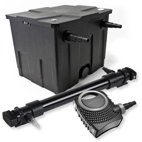 SunSun Kit de filtration de bassin 12000l 72W UVC 6. Stérilisateur NEO10000 80W Pompe