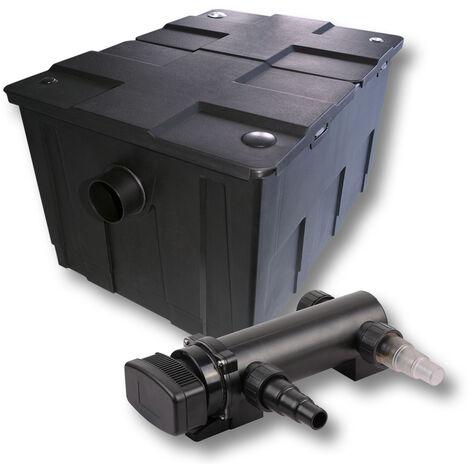 SunSun Kit de filtration de bassin 60000l 18W UVC 3. Stérilisateur