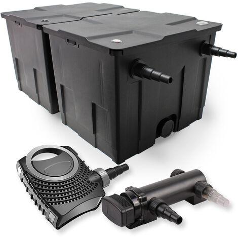 SunSun Kit de filtration de bassin 60000l 18W UVC 3. Stérilisateur NEO8000 70W Pompe