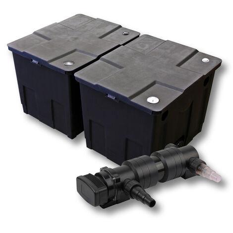 SunSun Kit de filtration de bassin 60000l 18W UVC 6. Stérilisateur
