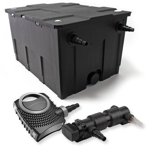 SunSun Kit de filtration de bassin 60000l 18W UVC 6. Stérilisateur NEO8000 70W Pompe