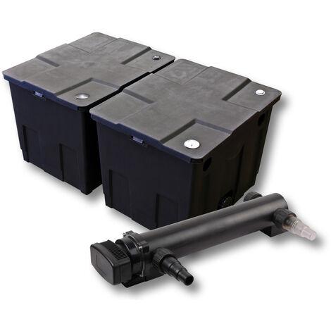 SunSun Kit de filtration de bassin 60000l 24W UVC 3. Stérilisateur