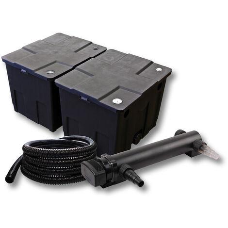SunSun Kit de filtration de bassin 60000l 36W UVC 3. Stérilisateur et 5m Tuyau