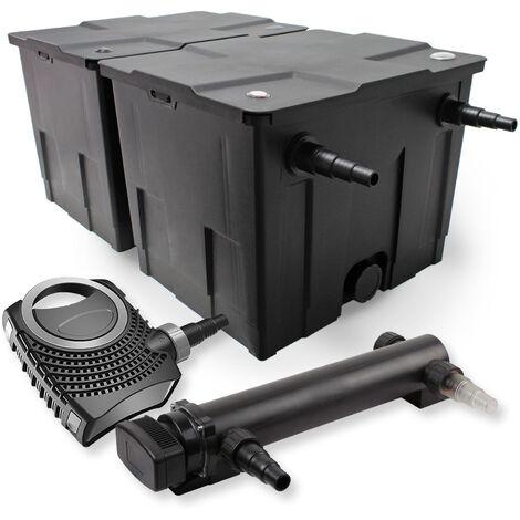 SunSun Kit de filtration de bassin 60000l 36W UVC 3. Stérilisateur NEO8000 70W Pompe