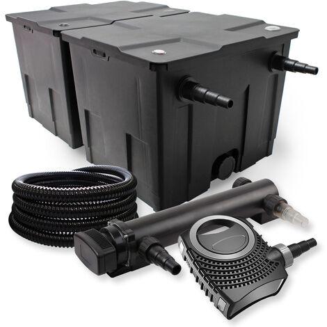 sunsun kit de filtration de bassin 60000l 36w uvc 3. Black Bedroom Furniture Sets. Home Design Ideas
