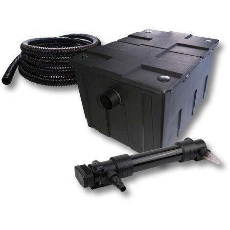 SunSun Kit de filtration de bassin 60000l 36W UVC 6. Stérilisateur et 5m Tuyau