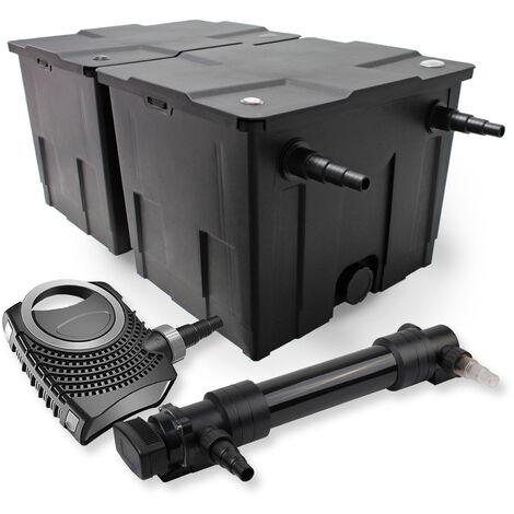 SunSun Kit de filtration de bassin 60000l 36W UVC 6. Stérilisateur NEO10000 80W Pompe