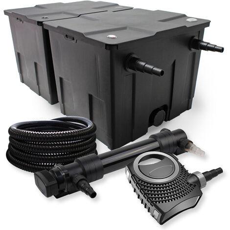 SunSun Kit de filtration de bassin 60000l 36W UVC 6. Stérilisateur NEO10000 80W Pompe Tuyau