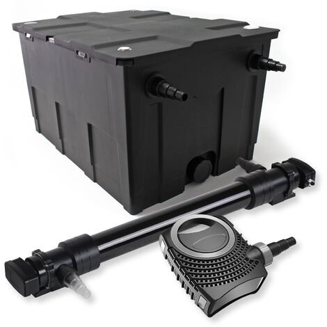 SunSun Kit de filtration de bassin 60000l 72W UVC 6. Stérilisateur NEO10000 80W Pompe