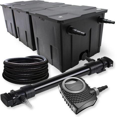 sunsun kit de filtration de bassin 90000l 72w uvc 6. Black Bedroom Furniture Sets. Home Design Ideas